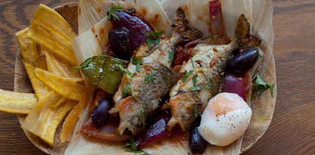 Piranha on a plate