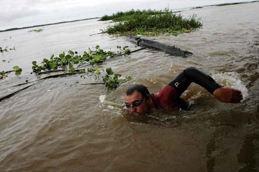 Martin strel amazon river