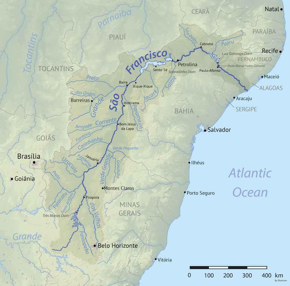 san franciso river course map