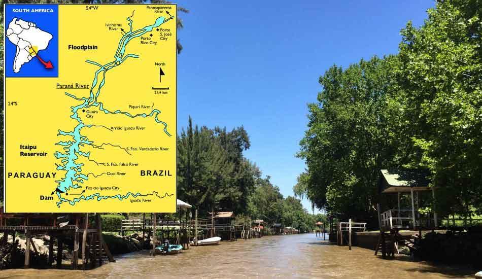 parana river course